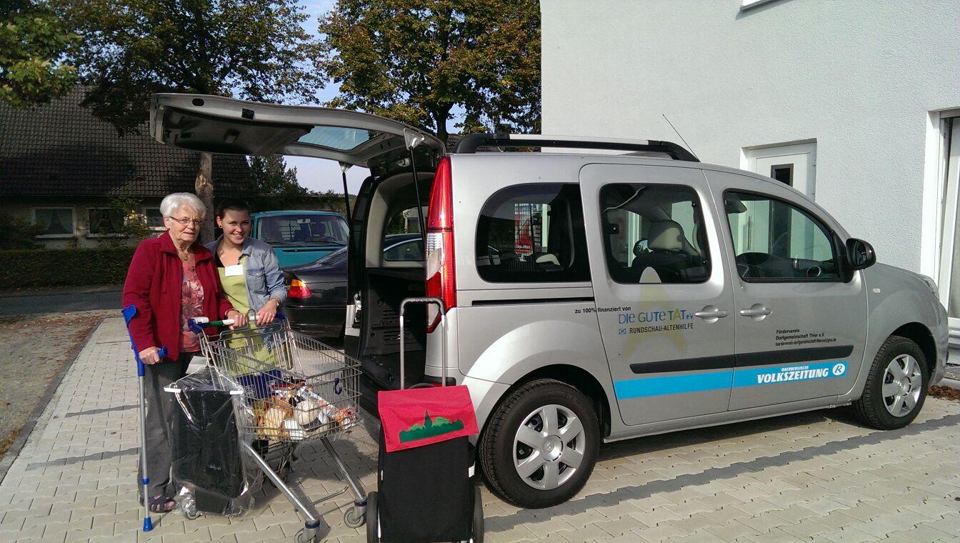 2014 Fahrzeug für den Dorfladen