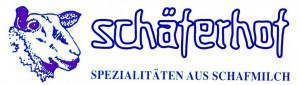 Schäferhof-Logo blau